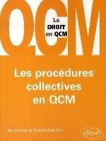 LES PROCEDURES COLLECTIVES EN QCM